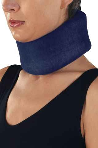 Foam cervical collar in anatomical design, CERVILIGHT SOFT
