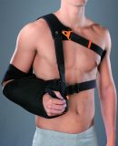 Shoulder support with fixed abduction of 10°, OMOPLUS